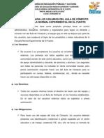 REGLAMENTO PARA LOS USUARIOS DEL AULA DE CÓMPUTO DE LA ENEF.docx