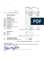 2015 Approved Budget, Westmere Fire District