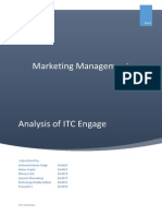Deodorant Industry Analysis ITC Engage