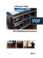 Mt-50 Multitouch Table DIY Instructions 1