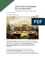 Amor a los pobres es evangelio no comunismo..pdf