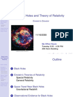 Black Holes Relativity Nov 18