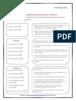 orações coordenadas e subordinadas - exercícios Tiago.pdf