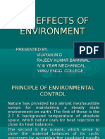 The Effects of Environment