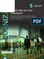 Exactly Who Are Your Customers?