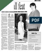 Mollie Kamm, Keeping Fit, Sun Media  (Aug. 31, 2009)