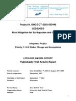 4-LESSLOSS-Publishable Final Activity Report