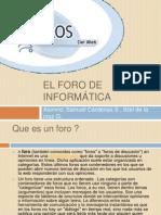 El foro de informática.pptx