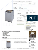 Buy LG WF-T7519PR Top Loading