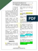 REVISÃO POR EXERCÍCIOS - QUESTÕES OBJETIVAS - - TÓPICOS PROCESSO CIVIL - GABARITO.doc
