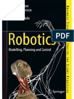 Robotics - Modelling, Planning and Control