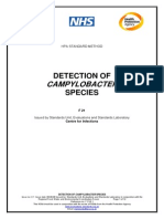 Detect. Sp.de Campylobacter