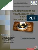 l_efficience informationnelle et les canaux de transmission des chocs informationnels.docx