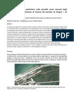 Geobiofisica Ipotesi Preliminari Sulle Possibili Cause Naturali Degli Eventi Incendiari Di Canneto Di Caronia Del Periodo 15 Giugno_ 16 Ottobre 2014