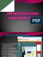 10 metodos para aprender Ingles.pptx