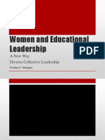 women and educational leadership