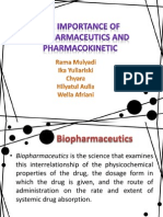 The Importance of Biopharmaceutics and Pharmacokinetic.pptx