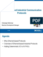 Ethernet-based Industrial Communication Protocols