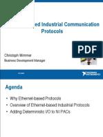 Ethernet-based Industrial Communication Protocols