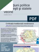 Formațiuni politice românești și statele vecine