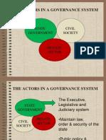 CD 141 Actors in Governance and Understanding OD 2013