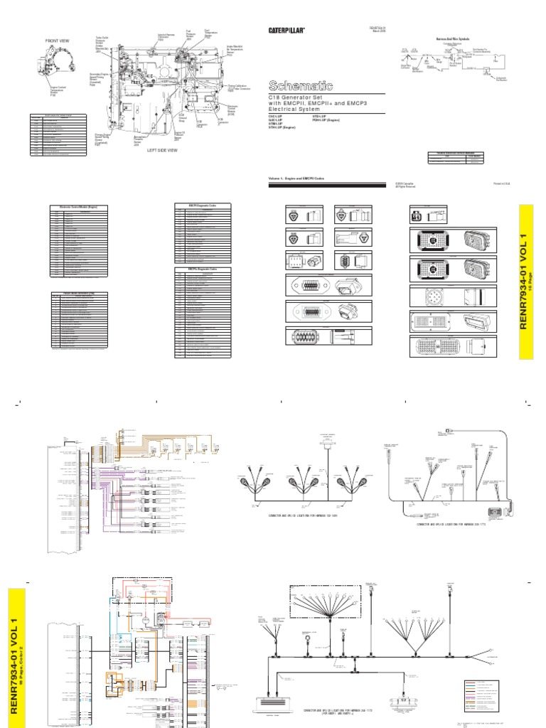 Cat Mxs Ecm Wiring Diagram Acert Engine Wire C18 Info U2022 1985 Chevy 305