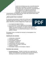 Un contrato es un acuerdo de voluntades que crea o transmite derechos y obligaciones a las partes que lo suscriben.docx