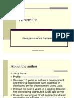 Java Persistence Framework