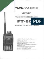 Manual Español Yaesu Ft-60