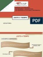 EXP-JUSTO A TIEMPO.ppt