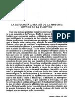 NAVARRETE ORCERA LA MITOLOGIA A TRAVES DE LA PINTURA ESTADO DE LA CUESTION.pdf