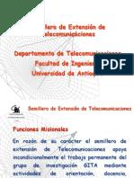 Presentación Semillero Telecomunicaciones