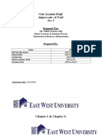 Cost Account Accountinv 441