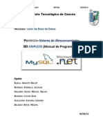 Manual Programador BDE2
