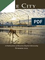 The City Summer (Summer 2014) by Houston Baptist University