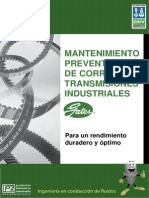 Manual Mantenimiento de Correas Poberaj Sa