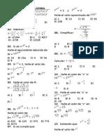 Ejercicios de Algebra EJERCICIOS DE ALGEBRA.doc
