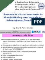 Amenaza de Sitio (Guatemala)