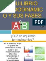Equilibrio Termodinámico y Sus Fases.