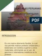 PROTESIS FLEXIBLES