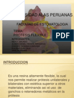 PROTESIS FLEXIBLES