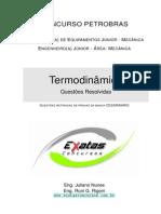 Resolução de Questões de Termodinâmica Petrobras Eng Equipamentos Jr Mecanica
