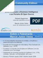 Uma Introducao Ao Pentaho Bi Open Source v2
