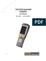 Hand-Held Computer - User Manual