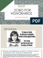 Recibo Por Honorarios - doctrina y Práctica