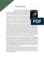 Biografía José Carlos Mariátegui