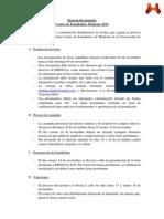 Comunicado Proceso Eleccionario MEDULA 2015