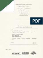 FEYERABEND, Paul - Tratado Contra o Método