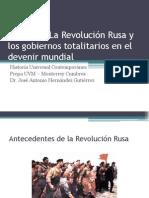 Semana 3 - Antecedentes de La Rev Rusa
