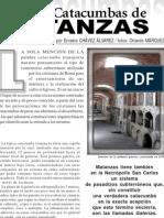 Galerías de la Necrópolis San Carlos. Las Catacumbas de Matanzas.